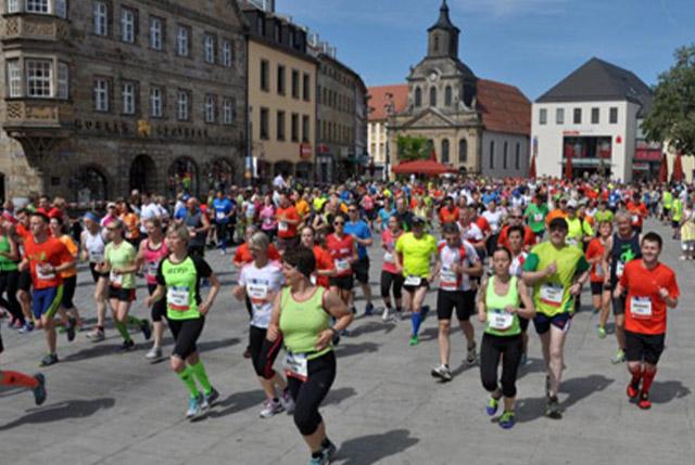 Viele Läufer beim Maisels FunRun 2014