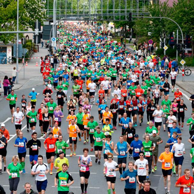 Viele Läufer beim Maisels FunRun 2015