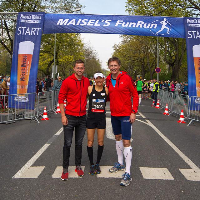 Läufer beim Maisels FunRun 2016
