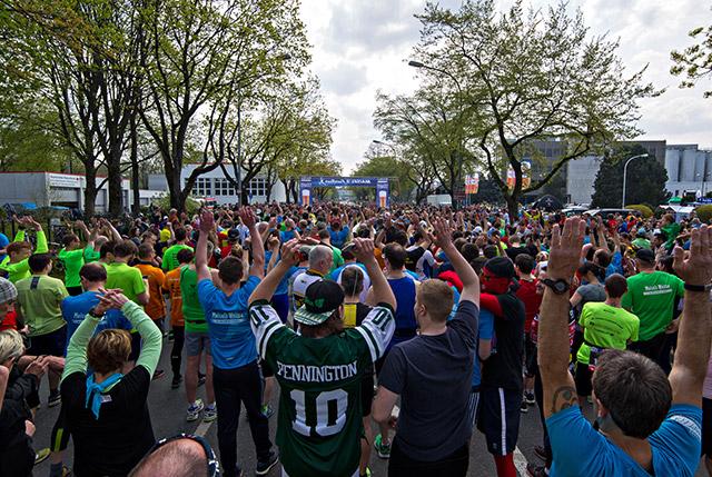 Viele Läufer beim Maisels FunRun 2016