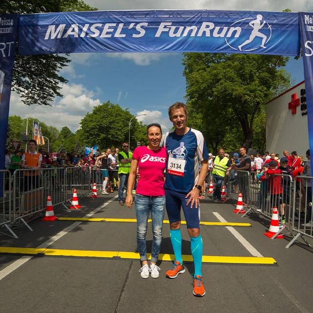 Läufer beim Maisels FunRun 2017
