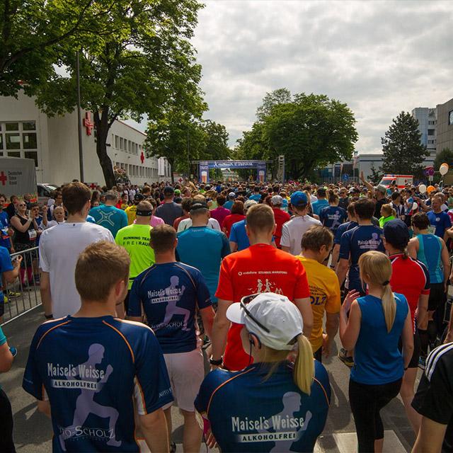 Viele Läufer beim Maisels FunRun 2017