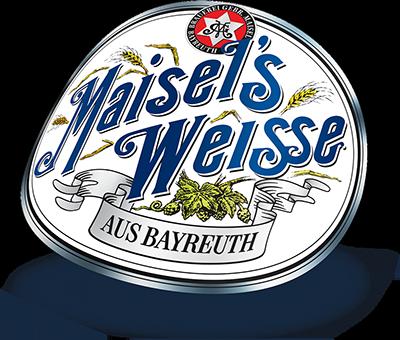 Maisels Weisse Logo gebogen